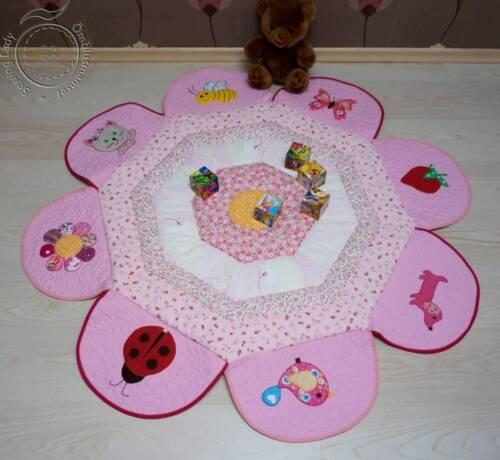 Mängutekk Roosa lilleke